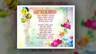 Bài thơ Ong và Bướm - Dạy bé đọc thơ - bibook