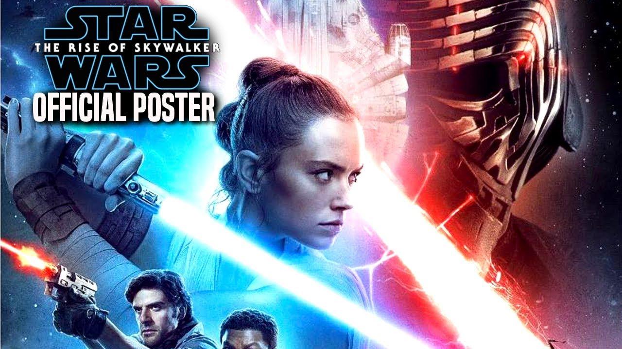 the rise of skywalker official poster revealed star wars episode 9
