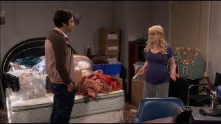 Bernadet dice a Raj que no se siente feliz con su proximo bebe la teoria del big bang