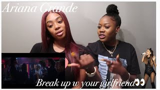 ARIANA GRANDE- break up with your girlfriend, i'm bored OFFICIAL MUSIC VIDEO [Reaction]
