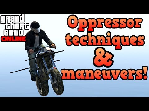 Generate Gunrunning Oppressor maneuvers and techniques guide! - GTA Online Pictures