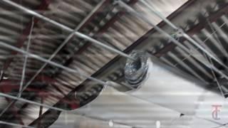 Instalação 3TC Isolamento - Forro de PVC