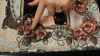 Heartfelt Creations Vintage Floret Rose Demo