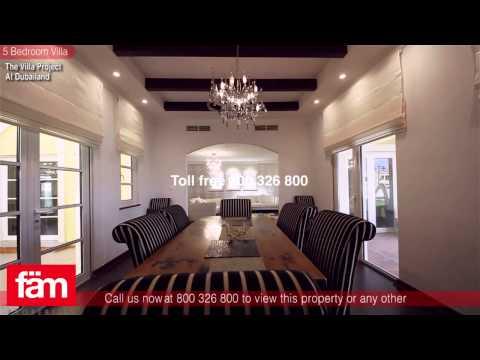 Exclusive 5 Bedroom Villa For Sale,The Villa Project, Dubailand, UAE