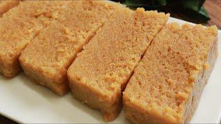 Milk Cake Recipe सिर्फ दूध से सुपर सॉफ्ट व दानेदार मिल्क केक Famous Alwar ka Mawa Recipe HalwaiStyle