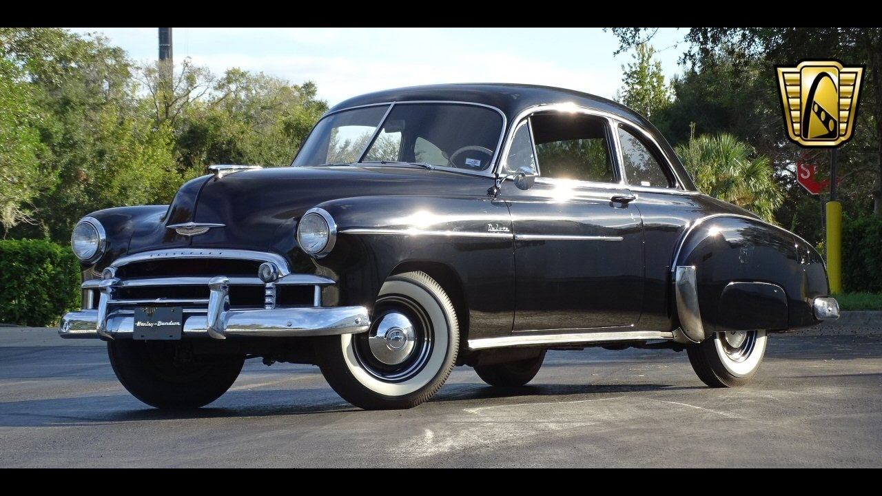 Coupe 1951 chevy sport coupe : 1950 Chevrolet Styleline Gateway Classic Cars Orlando #622 - YouTube