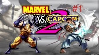 Mvc2 ( Marvel vs Capcom 2)-With Friends #1