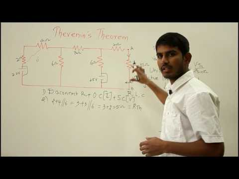 Thevenin's Theorem in Electrical Circuit