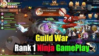 Laplace M Guild War Rank 1 Ninja GamePlay