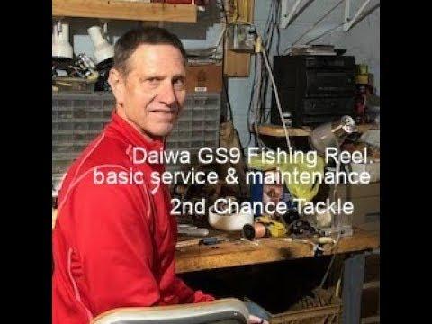 Daiwa GS9 Fishing Reel Service And Maintenance