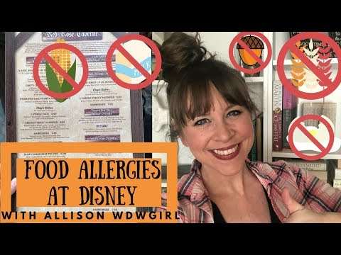 FOOD ALLERGIES AT DISNEY 101 | NAVIGATING THE PROPERTY WITH ALLERGIES // WDWGIRL