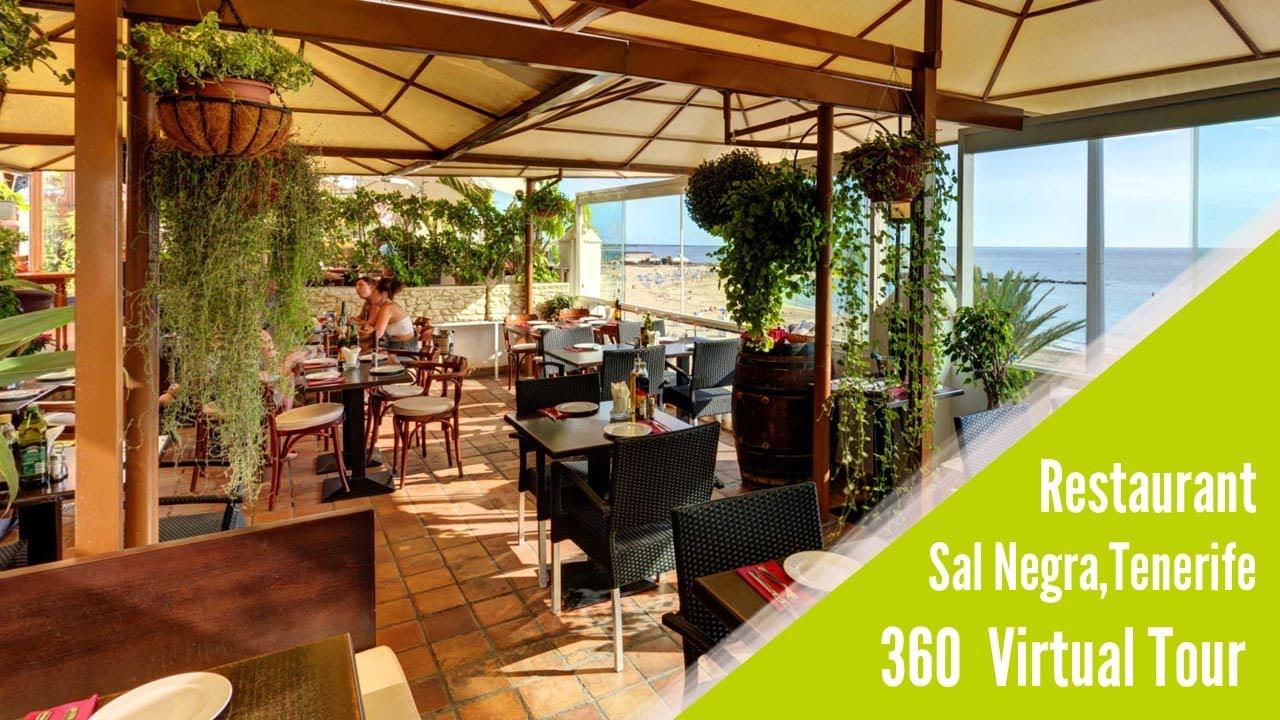 restaurant sal negra 360 virtual tour video youtube