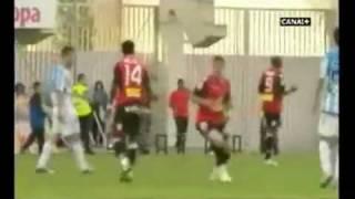 Pelea entre Keita y Aduriz Malaga  1 - 1 mallorca