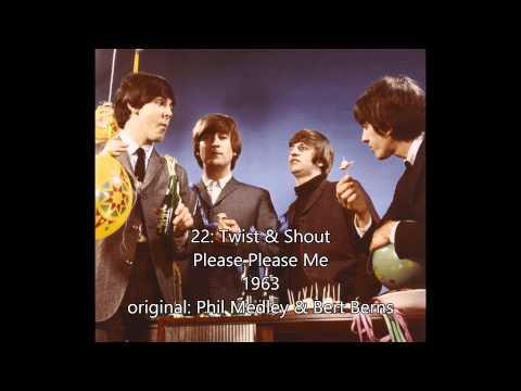 my top 38 Beatles songs