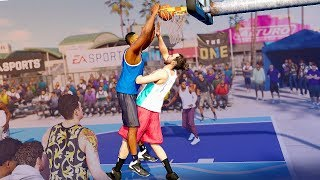 MEANEST POSTER EVER - NBA Live 18 Demo The One Gameplay #2