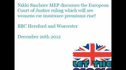 Nikki discusses the rise of  womens car insurance on BBC Hereford and Worcester