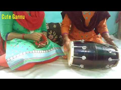 Shadi Song On Dholak (Banna Geet)