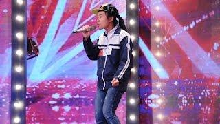 Vietnam's Got Talent 2016 - TẬP 01 - Rap Cấm - Hà Thị Hiền