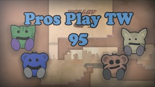 Teeworlds - Pros play TW 95: I member :D
