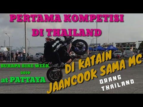 PERTAMA KALI KOMPETISI DI THAILAND | DI KATAIN JANCOOOK