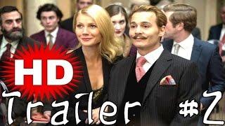 Mortdecai - Official Trailer (2015) Johnny Depp, Gwyneth Paltrow, Movie [HD]