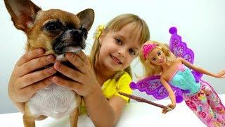 Играем с домашними животными - Собачка ЧичиЛав.