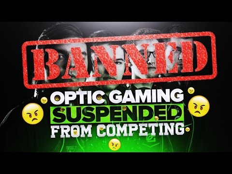 OpTic Gaming SUSPENDED?!