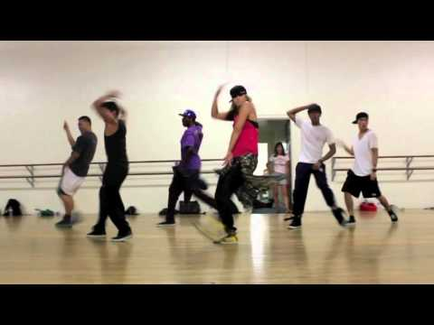 """Out of My Mind"" by B.o.B ft Nicki- FERLY choreography"