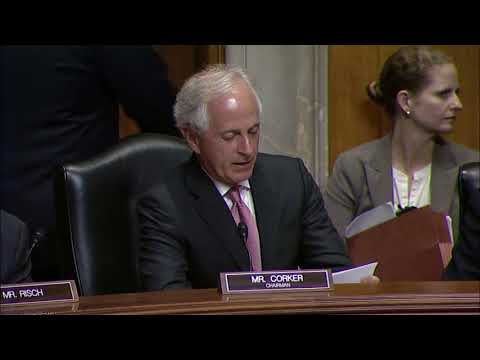 Corker Statement at Hearing for Huntsman and Mitchell Nominations