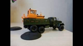 ''Як побудувати ру модель КРАЗ-255Б''