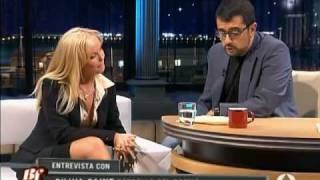 Silvia Saint Entrevista en Buenafuente - A3 - (4-10-2006) parte 2de2.