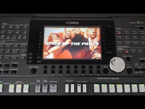 Yamaha PSR-S970 Keyboard Factory Demo Songs