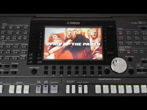 Yamaha PSR-S970 Keyboard Factory Demo Songs