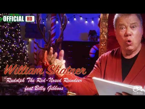 Scott Sands - William Shatner And ZZ Top's Billy Gibbons Team Up To Take On Rudolph
