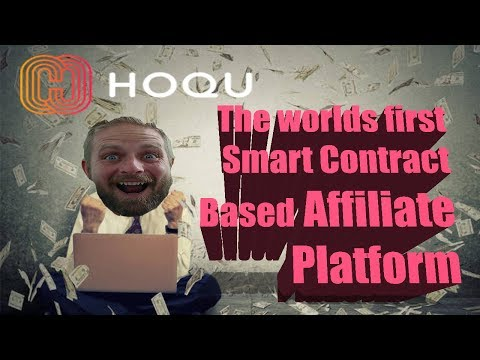 HOQU ICO – AFFILIATE MARKETING ON THE BLOCKCHAIN