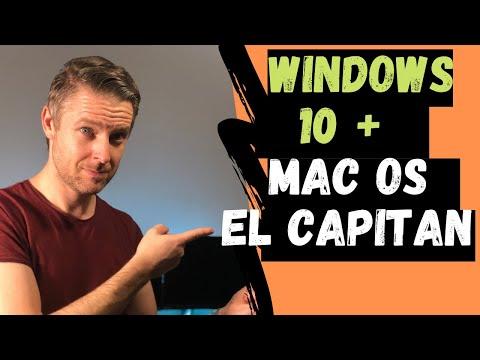 How To Install Windows 10 Onto Mac OSX El Capitan Using Bootcamp | VIDEO TUTORIAL