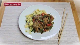 Delikatna kaczka z papryką i grzybami (stir fry) :: Skutecznie.Tv [HD]