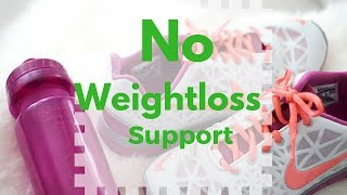 Losing Weight with NO Support | The Truth about Weight loss