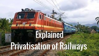 Private Participation of in Railways || Daily Current Affairs by Ankit Bajpai