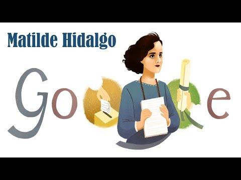 Matilde Hidalgo de Procel Google Doodle