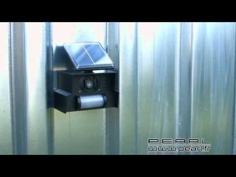 NX5045 - Répulsif Sonore Chiens Et Chats Solaire