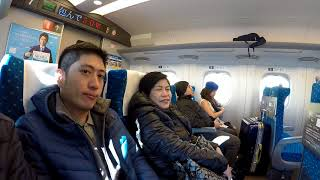 Tour of Kyoto Part 1 - Using Bullet Train and JR Pass