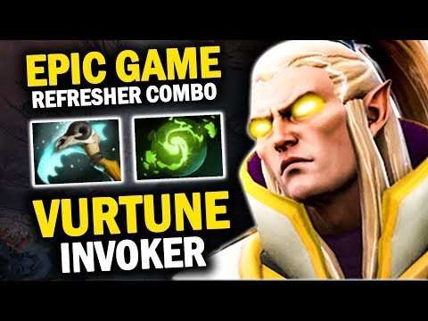 THE LEGEND IS REAL!! VURTUNE INVOKER PERFECT COMBO WITH REFE