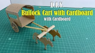 DIY: Bullock Cart with Cardboard