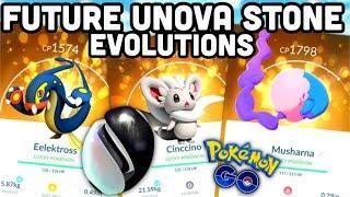 SAVE UNOVA STONES FOR THESE FUTURE EVOLUTIONS IN POKEMON GO