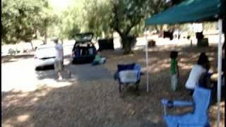 Camp at Potrero in San Diego