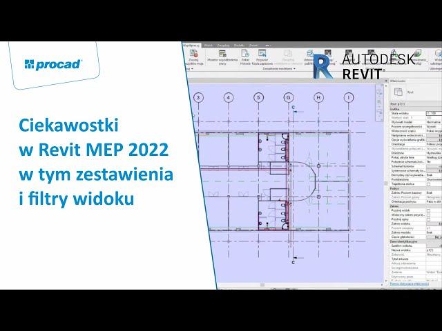 Ciekawostki w Revit MEP 2022 w tym zestawienia i filtry widoku | NetCafe