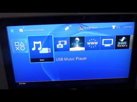 How to play your own music on PS4