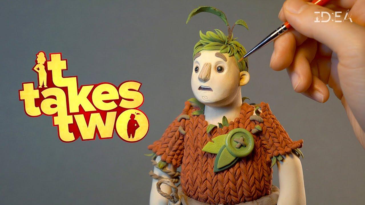 클레이로 만든 'It Takes Two'의 코디 인형   IDEA