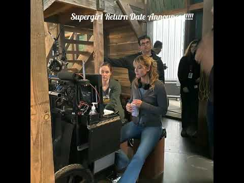 Supergirl Return Date confirmed!!!! BTS photos from the episode